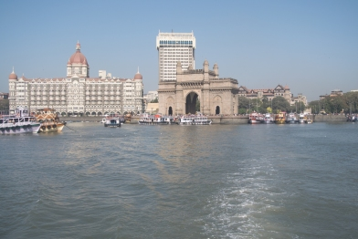 The Gateway of India and Taj Hotel