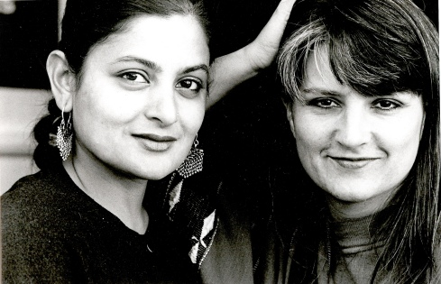 Kristine Landon-Smith and Sudha Bhuchar 1992